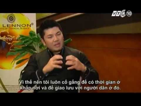 Jimmy Wong, interviewed by VTC10 Sharing Vietnam (Vietnam financial channel) Hanoi Vietnam