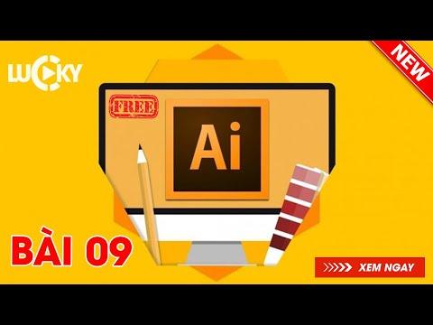 Bài 9: Cách viết chữ ( text ) và tạo kiểu chữ đẹp trong Illustrator cc 2018