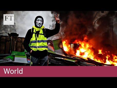 Emmanuel Macron faces crisis amid yellow-vest protests