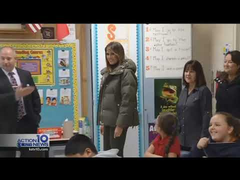First, Second Lady visit the Coastal Bend