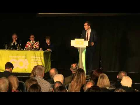 Tom Pursglove MP at the Grassroots Out launch