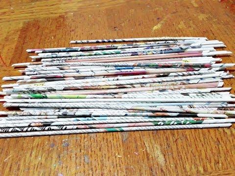 Waste Newspaper Creative Craft ll Newspaper Reuse Idea