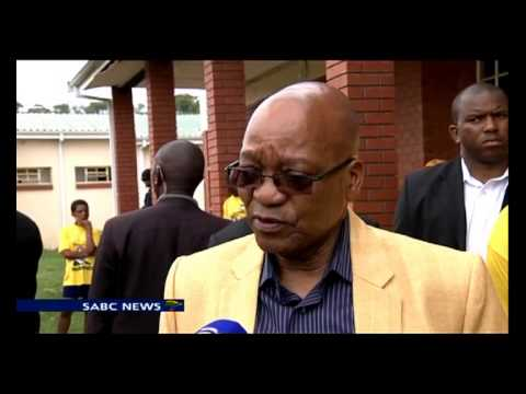 Zuma went to Nkandla to register for 2014 elections