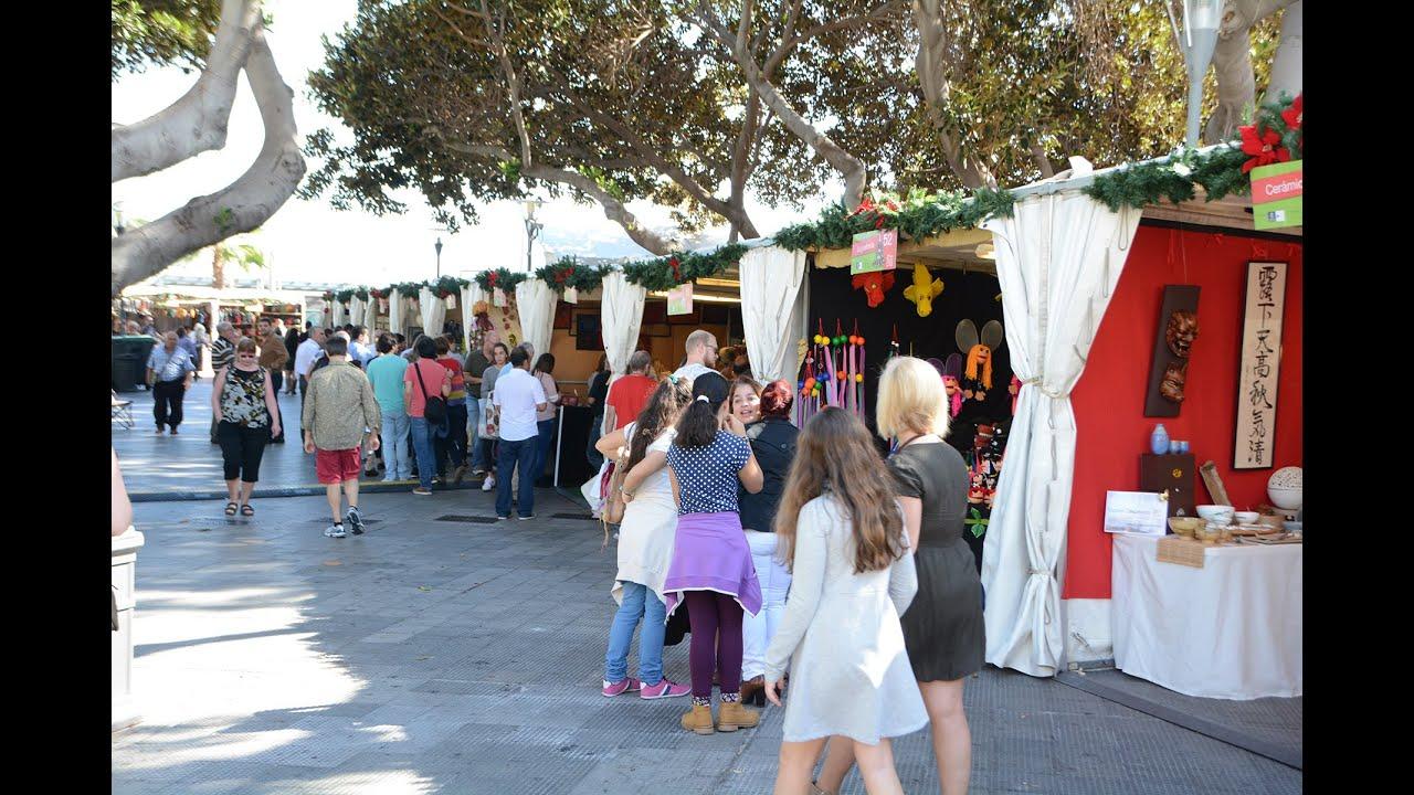 Feria de artesan a en san telmo por navidad youtube for Feria de artesanias 2016