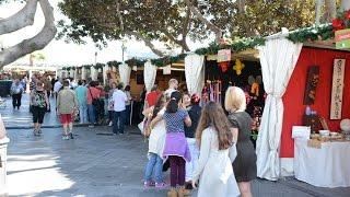 Feria de Artesanía en San Telmo por Navidad