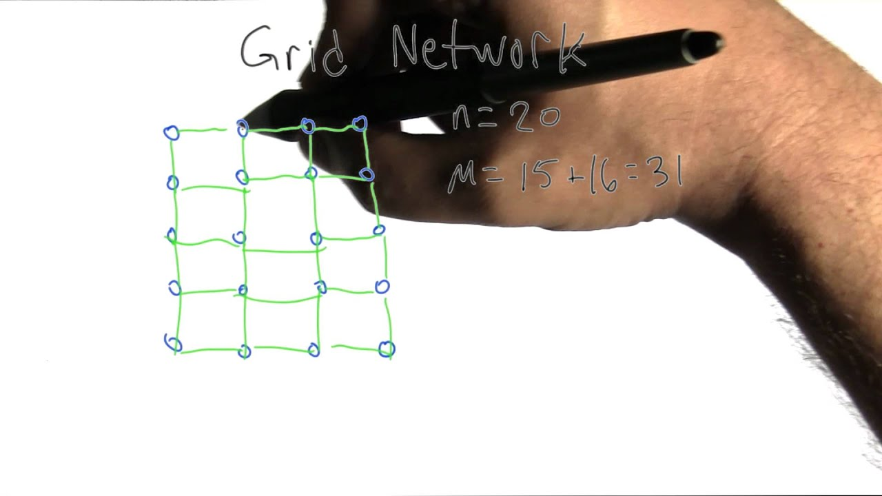 Introduction To Line Drawing Algorithm : Grid network intro to algorithms youtube