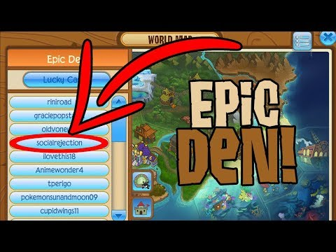 FIVE EPIC DENS ON ANIMAL JAM!