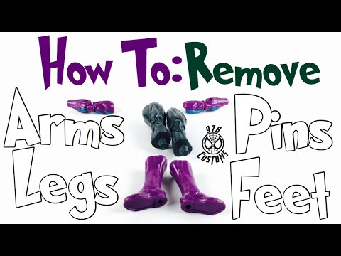 "HOW TO: Remove body parts on Marvel Legends Spider-Man 6"" action figures"