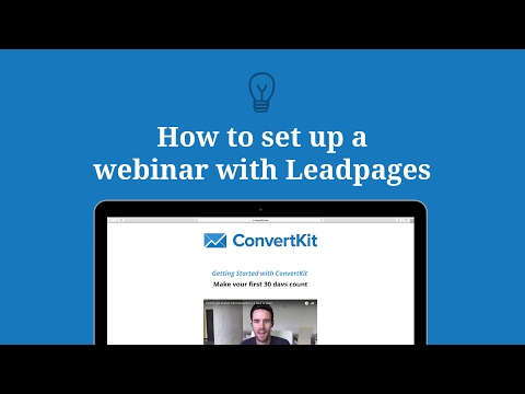 The Only Guide to Convertkit Leadpages