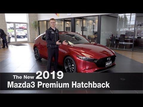 All-New 2019 Mazda3 Premium Hatchback | Mpls | Burnsville | Minnetonka | Inver Grove Heights | MN