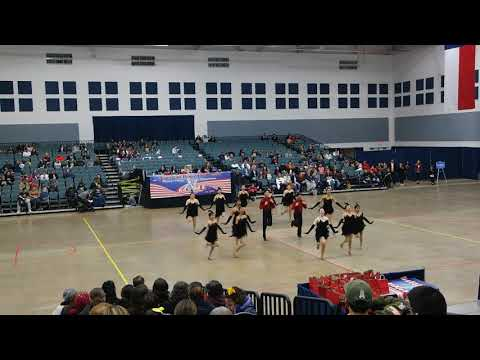 O.W Holmes High School Goldenbelles Team Kick at ADTS Dance Competition 2019