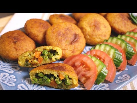 How to make Vegetarian Potato Chap (Assyrian Food)