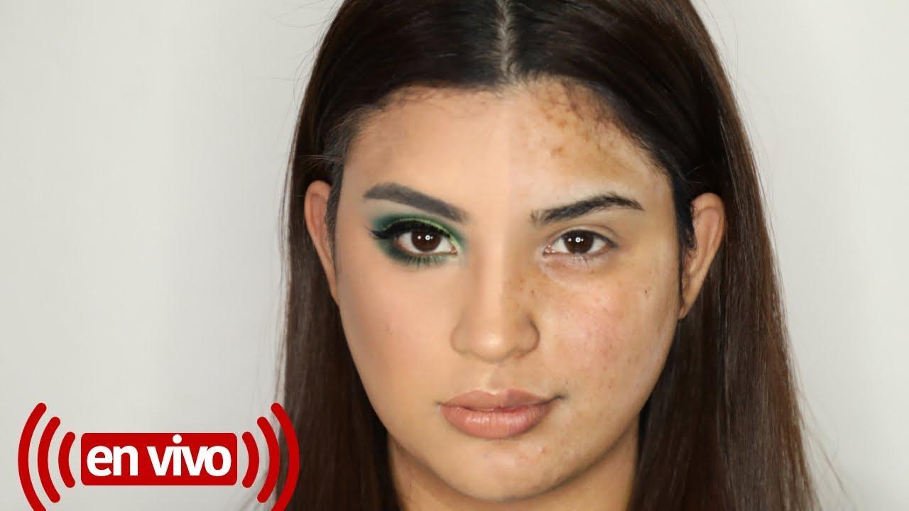 Tutorial de maquillaje en vivo con roccibella paso a paso