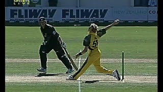 Brett Lee FASTEST OVER OF HIS LIFE 2005