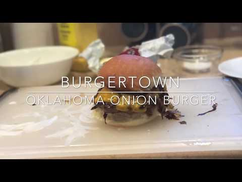How to cook an Oklahoma Onion Burger 🍔
