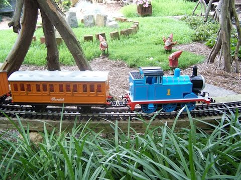 Backyard G scale Train Thomas The Tank Engine Garden Track