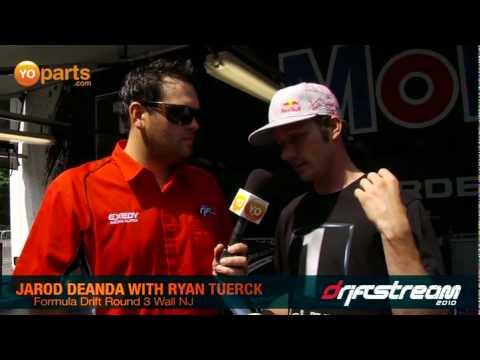 Jarod DeAnda interviews Ryan Tuerck Wall NJ Formula Drift