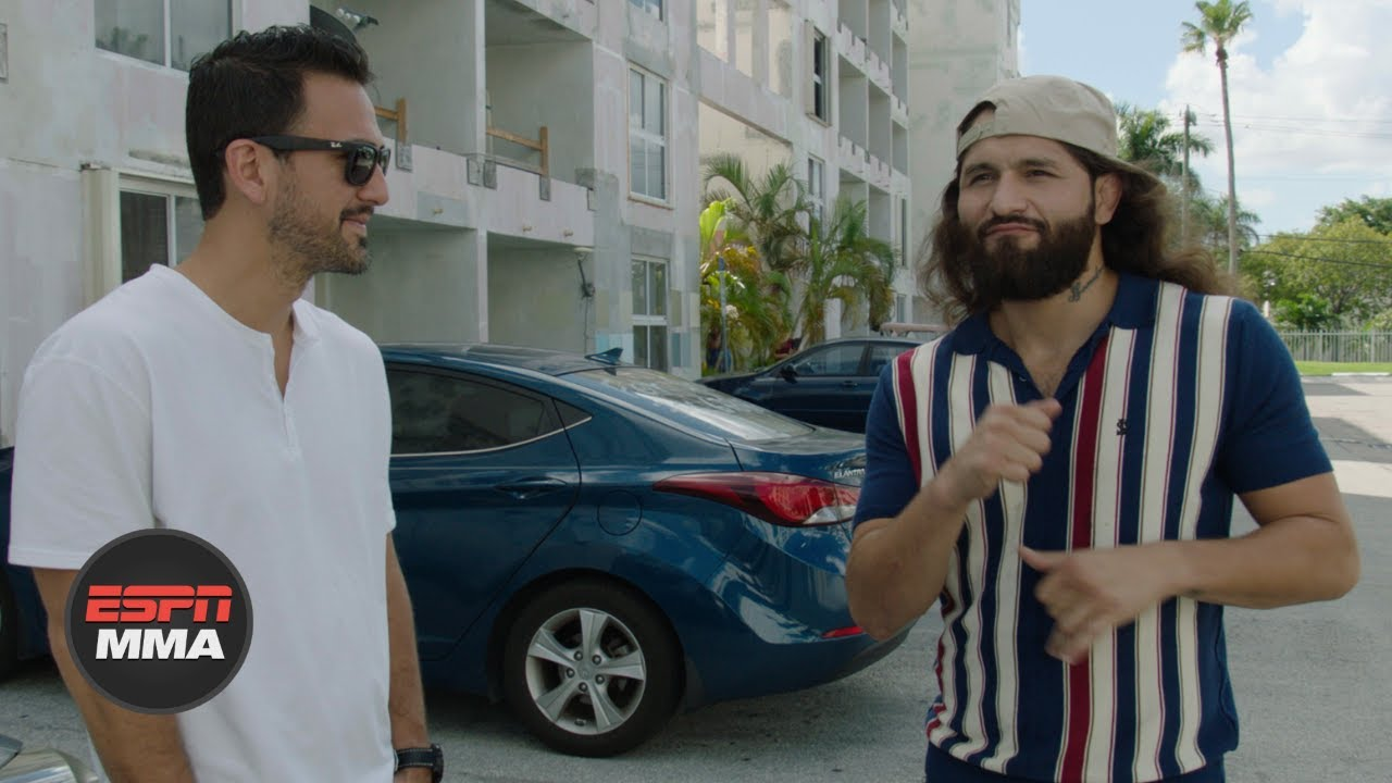 Jorge Masvidal story time: Growing up in Miami, backyard ...
