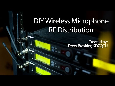 DIY Wireless Microphone RF Distribution