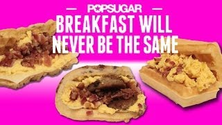 Make Your Own Taco Bell's Breakfast Waffle Taco | Eat The Trend