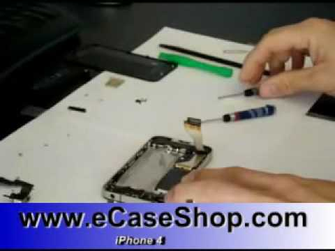 How To Disassemble IPhone 4 Housing Cover