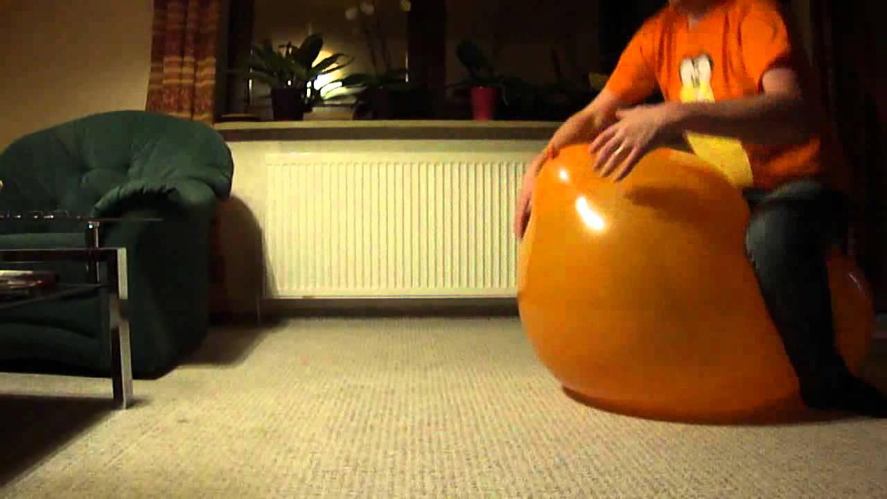"Sit Pop Balloon: Sit 2 Pop A 36"" Balloon"