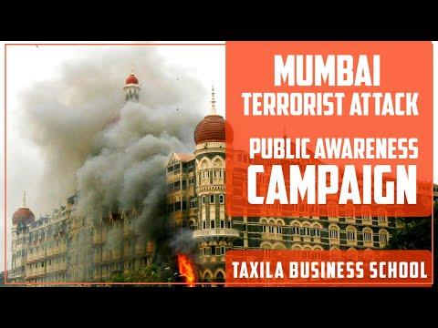 Mumbai  terrorist attack - Public awareness campaign at Taxila Business School Jaipur