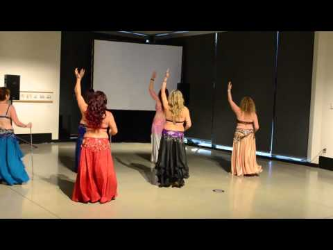 Tha Realm Dancers perform Al In Raks Assaya Cane at creatiValley 2015