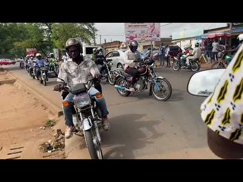 Lome Togo 🇹🇬  Motorcycles as a means of Transportation.#Lome