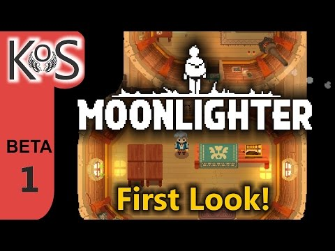 Moonlighter (ALPHA) Ep 1: Life of a Shopkeeper - First Look - Let's Play, Gameplay