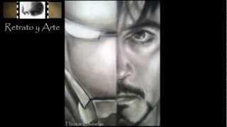 Dibujo A Lapiz De Ironman