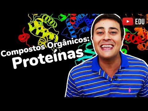 Proteínas   Compostos Orgânicos   Bioquímica   Prof. Paulo Jubilut