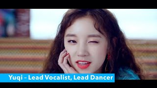 GET TO KNOW: (G)I-DLE (IDLE) (Members, looks, positions, profiles, voices) LATATA 2018 [1080p]