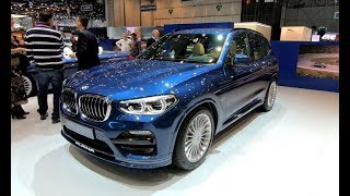 ALPINA XD3 AWD WORLD PREMIERE BMW X3 NEW MODEL 2018 WALKAROUND