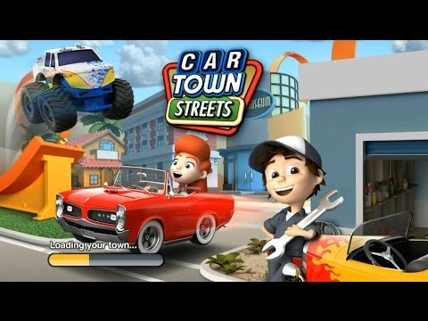 Car Town Streets Android Gameplay Hd Game For Kids Youtube
