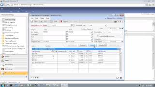 Microsoft Dynamics GP 2013 Manufacturing Order Processing