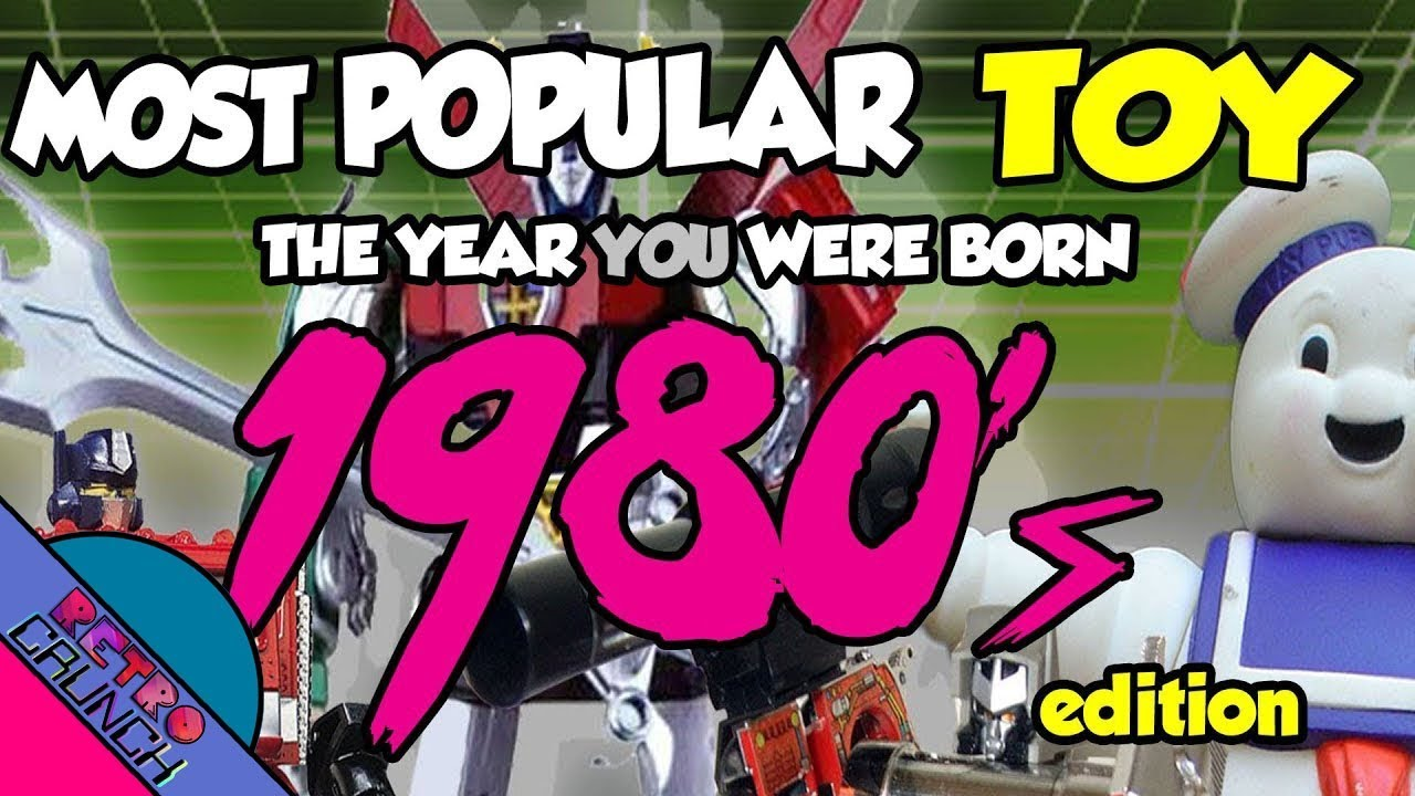 Most Popular Toys from The 1980s | The Year You Were Born