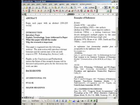 Accounting research papers - IAS Plus