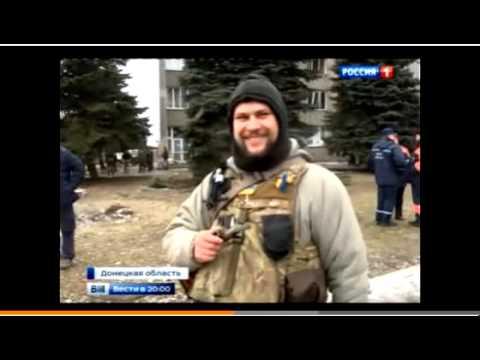 Евгений Попов из Дебальцевского котла