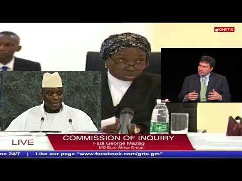 Yahya Jammeh's Closest Associate Muhammed Bazzi Testifies At The Commission Of Enquiry
