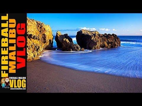 LEO CARRILLO MALIBU STATE BEACH!  FIREBALL MALIBU VLOG 630