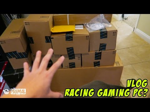 Unboxing Gaming Computer Parts vlog