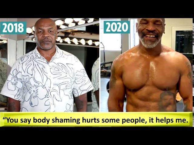 Mike Tyson's inspiration for transformation  Fat shaming