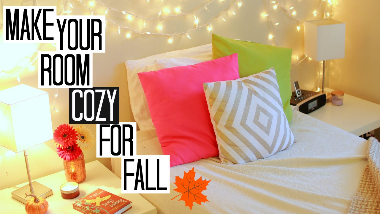 4 Ways To Make Your Room Cozy For Fall Youtube