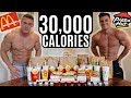 Gambar cover BODYBUILDERS vs 30,000 CALORIE CHALLENGE | Epic Cheat Day