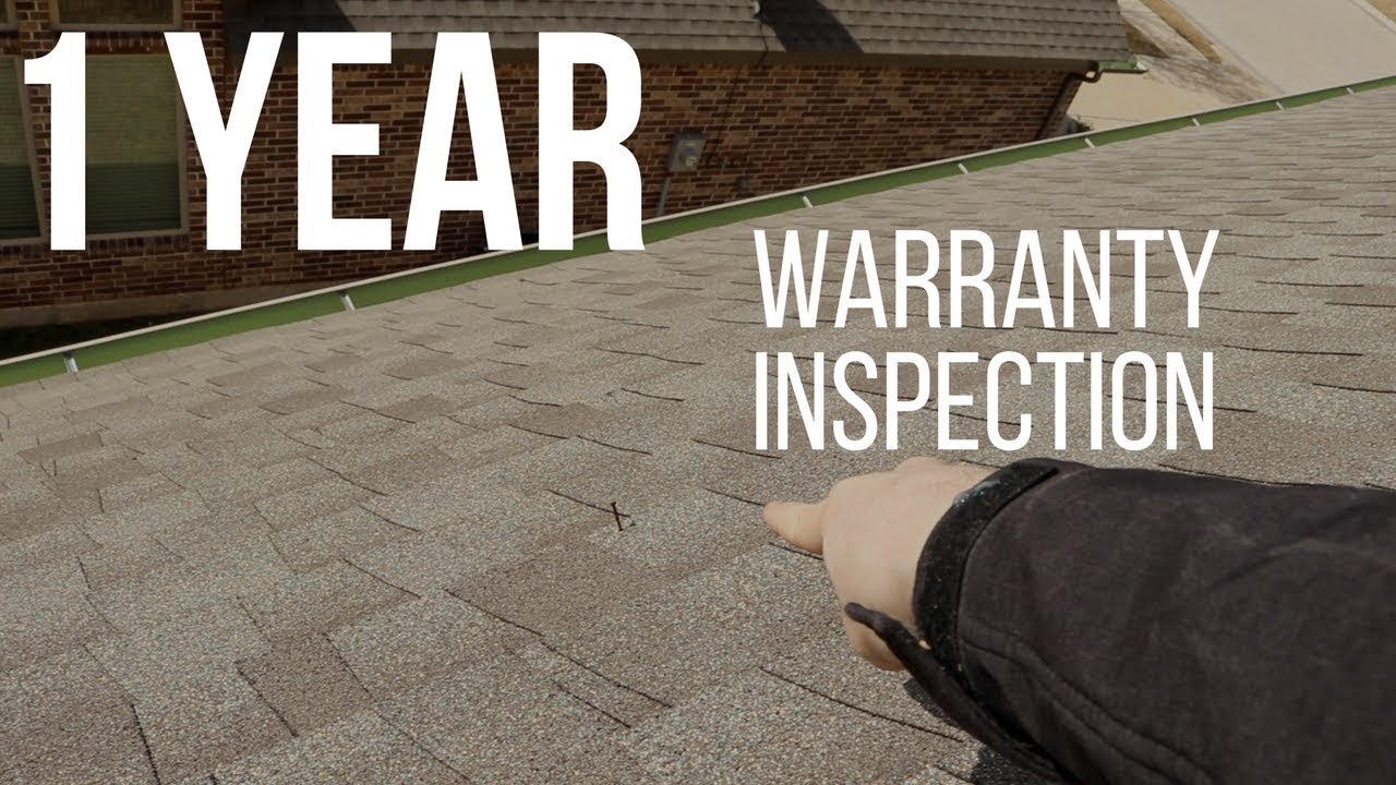 1 Year Warranty Home Inspection - YouTube