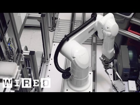 Inside The Robot-Run Lab Of The Future (Do Watch Your Step)