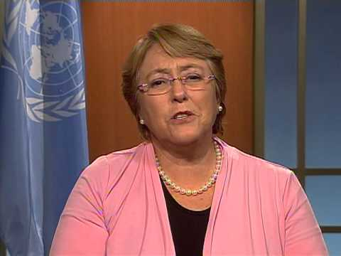 Michelle Bachelet: International Day to End Violence against Women