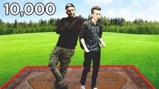 Ostatni YouTuber, który Wyjdzie za Dywan Wygrywa 10,000ZŁ?