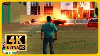 GTA Vice City ( 2002 ) : Old Games in 4K 2018